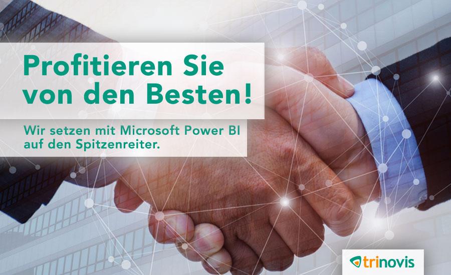 Microsoft Power BI erneut ganz vorne